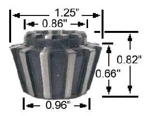 "Jacobs J441 Flex Collet 3//8"" To 7//16"" Capacity"